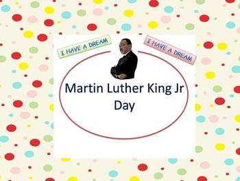 Martin Luther King Jr Day ESL Lesson, Lesson Plans and Act