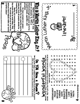 Martin Luther King Jr. Day Flippy Book