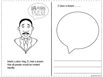 Martin Luther King Jr Day -Freebie