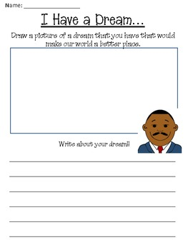 Free Martin Luther King Day Worksheets | Teachers Pay Teachers