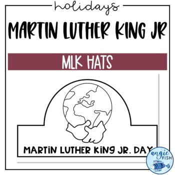 Martin Luther King Jr Day Hats / MLK Jr Crowns - NO PREP Craftivity