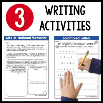 Martin Luther King, Jr. Day Informative Reader's Theater