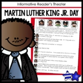 Martin Luther King Jr Day Readers Theater