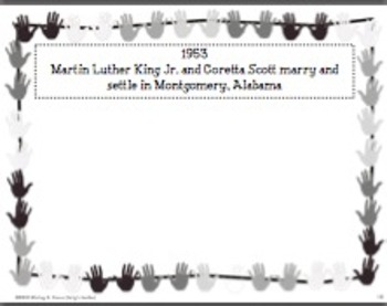Martin Luther King Jr. Day Lineup and Timeline