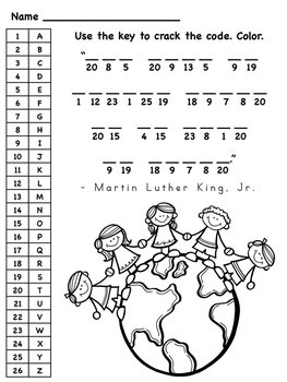 Invaluable image with regard to martin luther king worksheets free printable