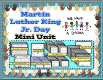 Martin Luther King Jr. Day Mini Unit