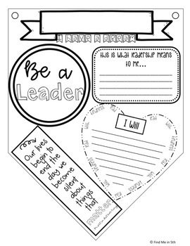 Martin Luther King Jr. Day Pennants & Morning Meeting Activities