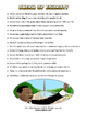 Martin Luther King Jr Day Reading Activity