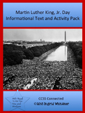 Black History Month : Martin Luther King Jr Informational Text