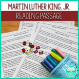 Martin Luther King, Jr. Day: Differentiated Reading Passages and Worksheets