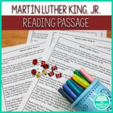 Worksheet on Martin Luther King Jr