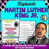 Martin Luther King Jr Day Research Flipbook (Facts & Activities)