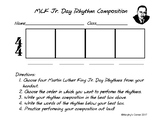 Martin Luther King Jr. Day Rhythm Composition