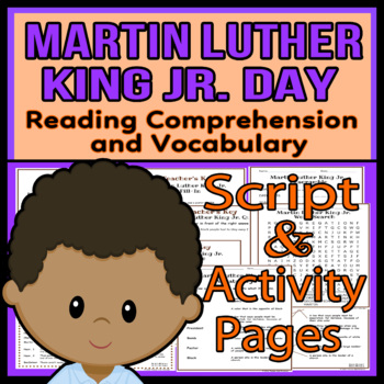 Martin Luther King Jr. Readers Theater Script, Reading & A