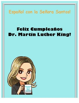 Martin Luther King Jr Day Spanish Activity