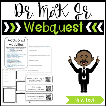 Martin Luther King Jr. Day Webquest