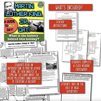 Martin Luther King Jr Day! What's the History behind the Holiday? A MLK Guide!