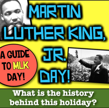 Martin Luther King Jr Day! What's the History behind the H