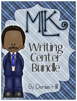 Martin Luther King Jr. Day Writing Center Bundle