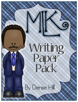 Martin Luther King Jr Day Writing Paper Pack