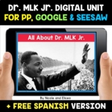 Martin Luther King Jr Digital Activities for Google and Seesaw