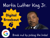 Martin Luther King Jr. - Digital Breakout! (Escape Room, Brain Break)