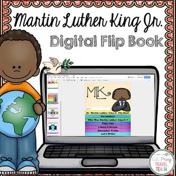 Martin Luther King Jr.  Digital Flip Book