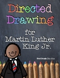 Martin Luther King Jr. Directed Drawing