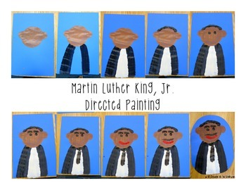 Martin Luther King, Jr. Directed Painting