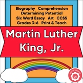 Martin Luther King, Junior: Discrimination, Equality, Diversity CCSS Grades 3-6