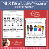 Martin Luther King Jr   Distributive Property   Color-by-Number