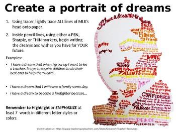 Martin Luther King Jr. Dream Portrait