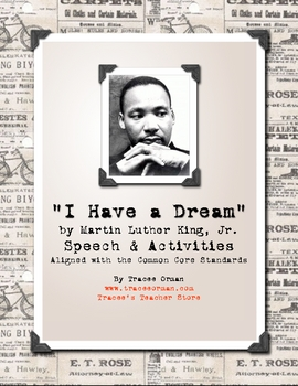 Martin Luther King, Jr. Dream Speech FREE #kindnessnation #weholdthesetruths