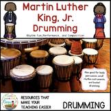 #musiccrewsun Martin Luther King Jr. Drumming and Writing