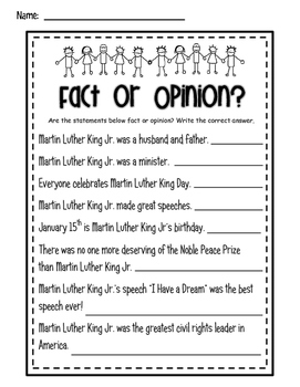 Martin Luther King Jr. ELA Common Core and More
