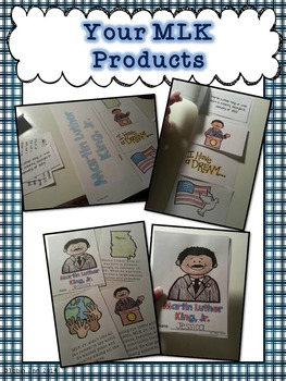 Martin Luther King Jr Activities (Reading and Writing)