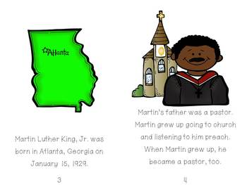 Martin Luther King, Jr. - Emergent Reader