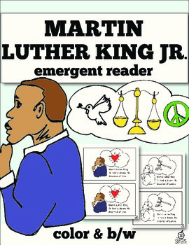 Martin Luther King Jr. Emergent Reader