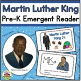 Martin Luther King Emergent Reader and Coloring Page