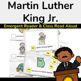 Martin Luther King Jr Book (Emergent Reader) & Class Read Aloud