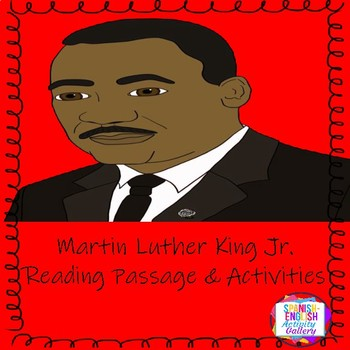 Martin luther king jr english lesson by spanish english activity martin luther king jr english lesson ibookread Read Online