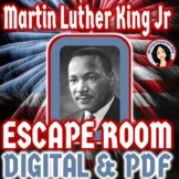 Black History Month Escape Room Martin Luther King Jr. Activity