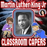 Martin Luther King Jr. Guess Who Done It Game Mystery Activity