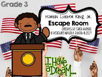 Martin Luther King, Jr. Escape Room Grade 3