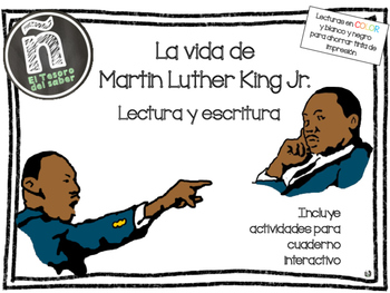 Martin Luther King Jr. - Escritura y Lectura - Spanish