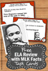 FREE Martin Luther King Day Activities, Martin Luther King Jr. Facts Games