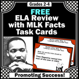 FREE Black History Month ELA Activities with Martin Luther King Jr Facts