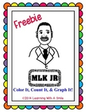 Martin Luther King, Jr. FREEBIE – Color It, Count It, Graph It! – Graphing Fun!