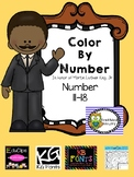 Martin Luther King, Jr. FRIENDSHIP Color By Number