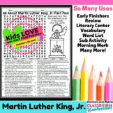 Martin Luther King Jr: All About MLK Reading and Word Search Activity